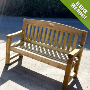 2 Seater Wooden garden Bench