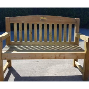 Wooden Garden Bench 2 Seater