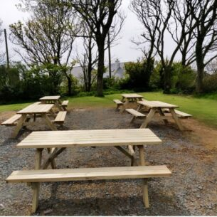 Wooden Picnic Table
