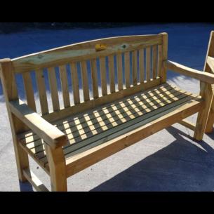 Wooden Garden Bench 2 Seater