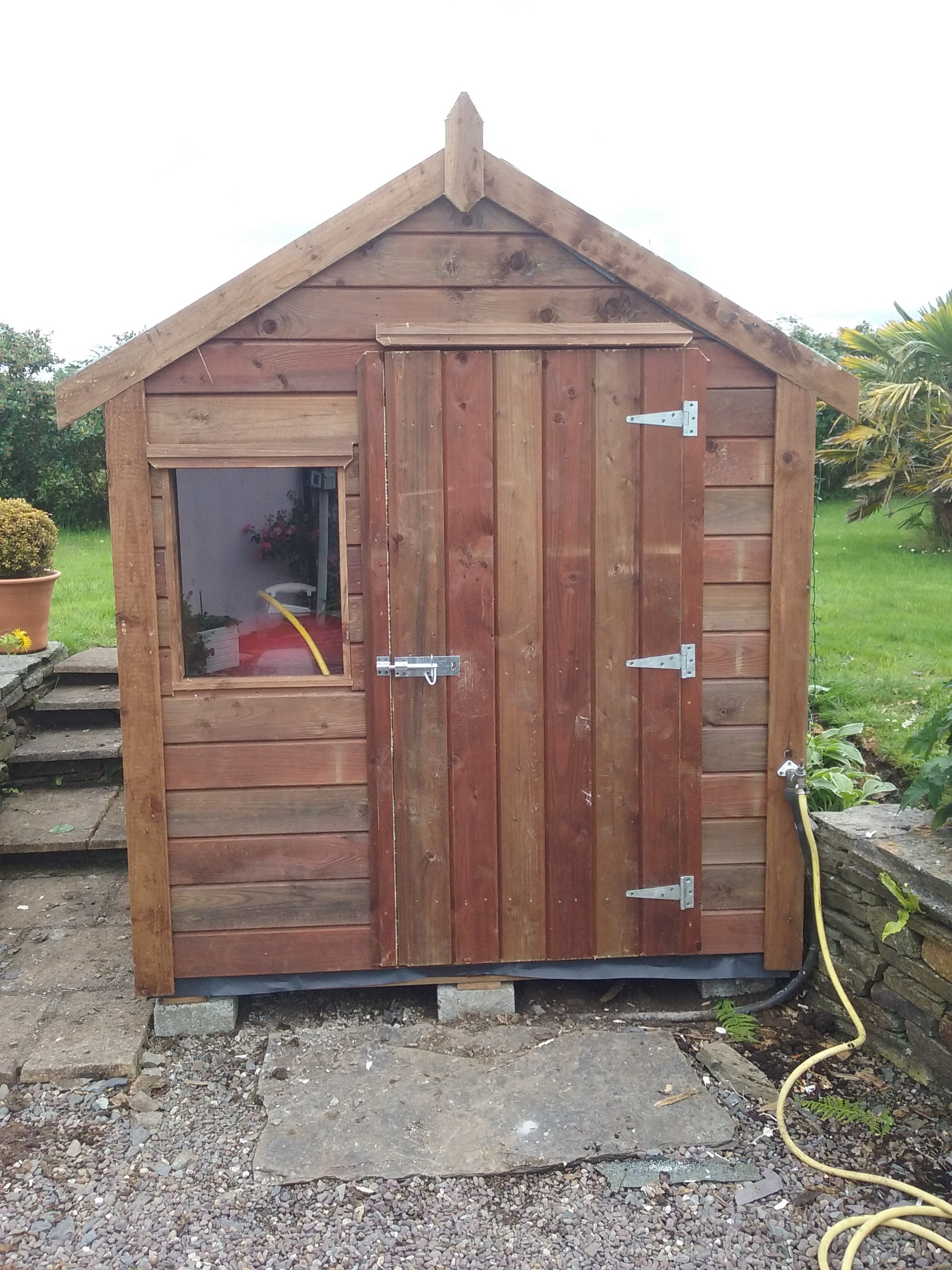 6 Ft X 6 Ft Timber Shed