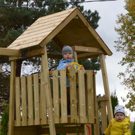 Junior Adventure Tower with Slide