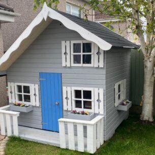 Tom Kids Wooden Playhouse