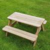 Lisbet Kids Wooden Picnic Table