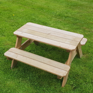 Lisbet Kids Wooden Picnic Table