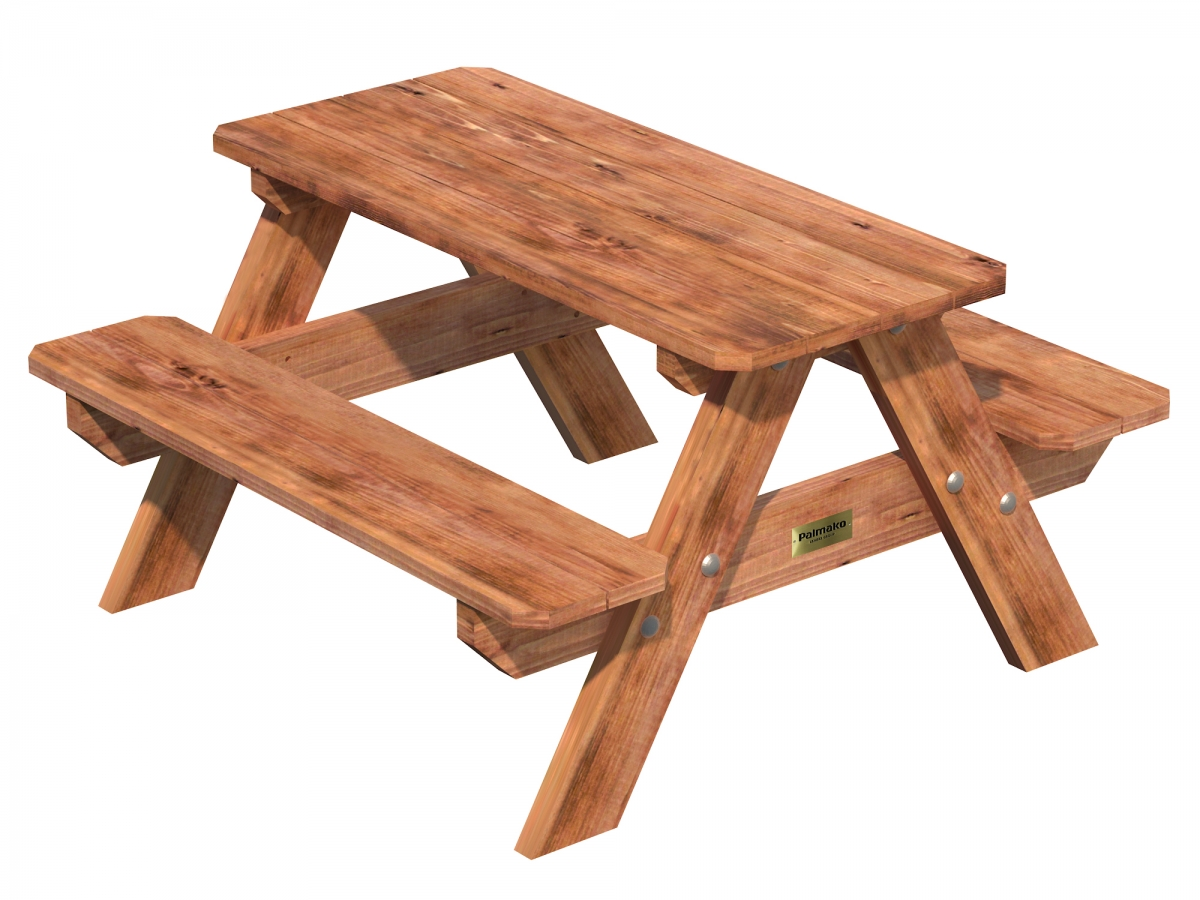 Lisbet Kids Picnic Table - Hennessy Outdoors