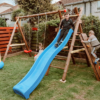 Bosse Wooden Play Unit Swing Slide