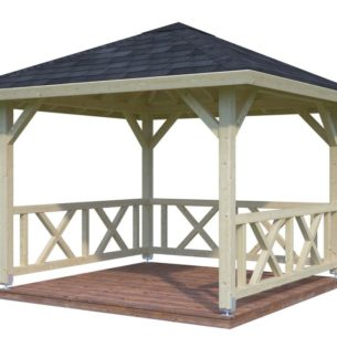 Bella Gazebo 9 m2
