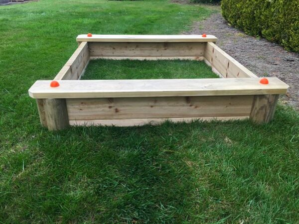 Kids Wooden Sandbox with Cover