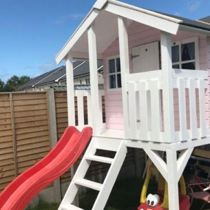 Toby Kids Playhouse with Slide