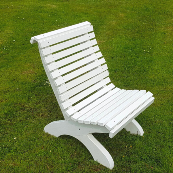 Amber Curved Garden Chair