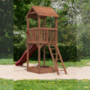 Safari Tower with Slide Garden