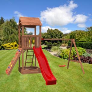 Safari Tower Unit 3 in garden