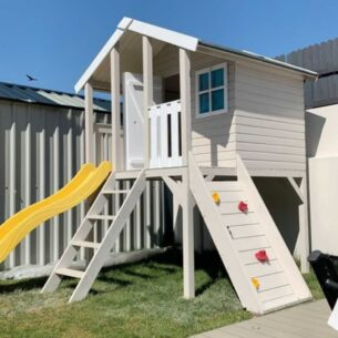 Toby Playhouse Slide Climbing Wall