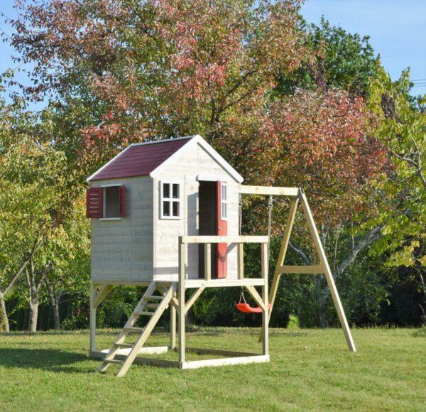 Robin Playhouse Platform and Single Swing