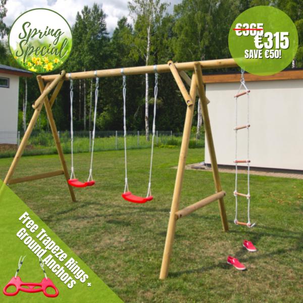 Rio Play Unit - Trapeze Disc Swing