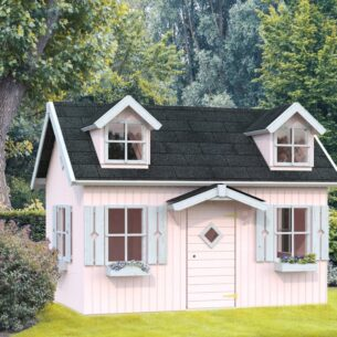 The Manor Kids Wooden Playhouse