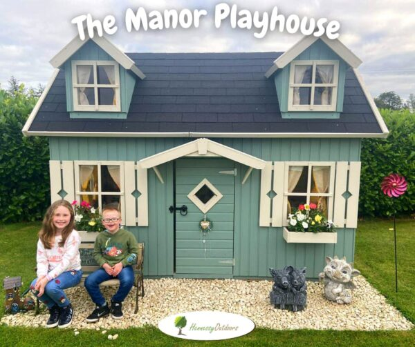 Manor Wooden Playhouse