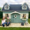 Manor Kids Wooden Playhouse