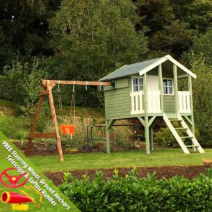 Toby Playhouse withDouble Swing